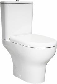 Tualete Vitra Zentrum White, ar vāku, 355x610 mm