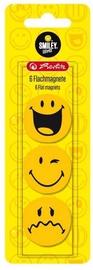 Магнит Herlitz Smiley, 6 шт.