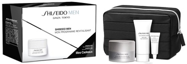 Shiseido Men Total Cream 50ml + 30ml Cleansing Foam + 3ml Eye Cream + Bag