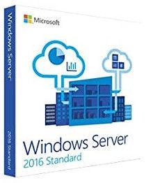 Microsoft Operating System Windows Server 2016 Standard 16 Cores OEM