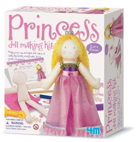 Izšūšanas komplekts 4M Princess Doll Making Kit 00-02746