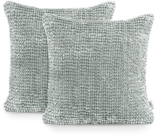 AmeliaHome Bati Pillowcase 45x45 Grey 2pcs