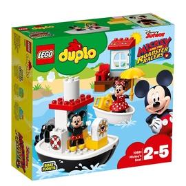 Konstruktorius LEGO Duplo Mickeys Boat 10881
