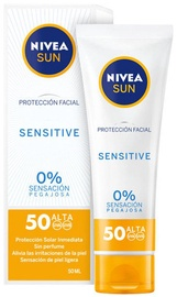 Nivea Sun Facial Protection Sensitive SPF50 50ml