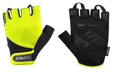 Force Gel 17 Short Gloves Yellow/Black XXL