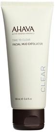Sejas skrubis AHAVA Time to Clear Facial Mud Exfoliator 100 ml