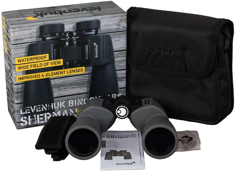 Levenhuk Sherman Plus 7x50 Binoculars