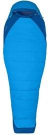Guļammaiss Marmot Trestles Elite Eco 15 Long Blue, kreisais, 198 cm