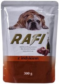 Влажный корм для собак (консервы) Dolina Noteci Rafi Wet Dog Food Turkey 300g