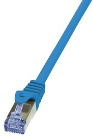 LogiLink CAT 6a S/FTP Cable Blue 1m
