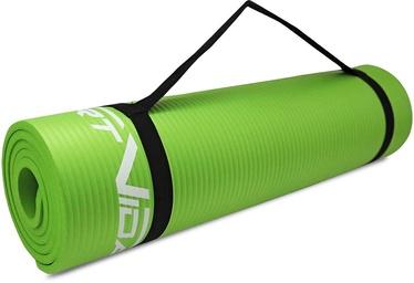 SportVida NBR Exercise Mat Green 180x60x1.5cm