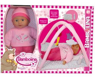 Кукла Bambolina doll with play mat BD1875