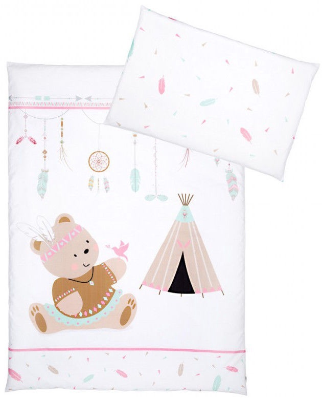 MORE DUVET COVER Baby Bedding Set Cot 120x60cm or Cot Bed 140x70 PILLOW CASE