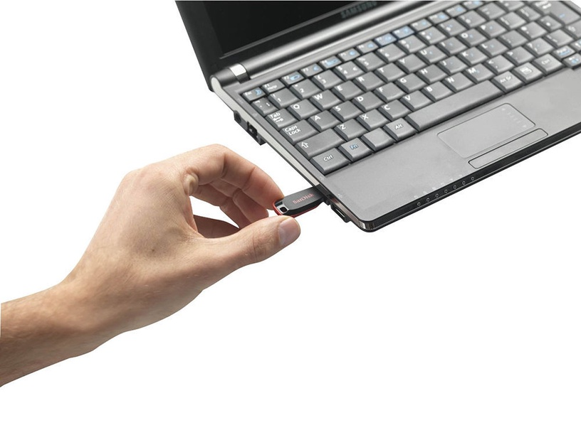 USB atmintinė SanDisk Cruzer Blade, USB 2.0, 32 GB