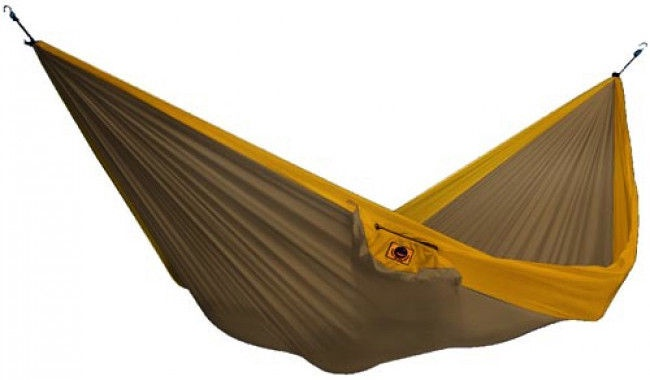 Ticket To The Moon Double Hammock Brown Dark Yellow