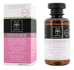 Apivita Intimate Gentle Foam With Chamomile & Propolis 200ml