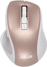 Kompiuterio pelė Asus MW202 Silent Rose Gold, bevielė, optinė
