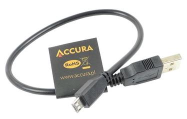 Accura Cable Micro USB / USB Black 0.3m