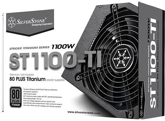 Silverstone Strider Titanium 1100W SST-ST1100-TI