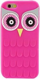 Zooky Soft 3D Back Case For LG K10 Owl Pink