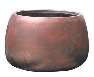 Home4you Flower Pot Cubo-1 D55xH37cm Bronze