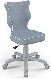 Детский стул Entelo Petit Size 3 JS06, синий/серый, 300 мм x 775 мм
