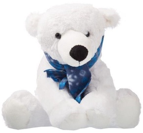 Axiom Teddy Bear Polar White 25cm