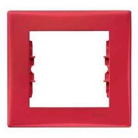 Schneider Electric Sedna Single Way Frame SDN5800241 Red