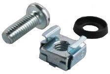 Intellinet M6 Cage Nut Set Grey 4 pcs