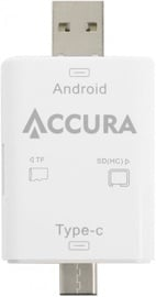 Accura ACC4145 SD/TF Card Reader