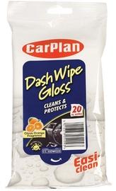 CarPlan Dash Wipes Glossy 20pcs