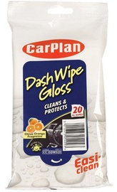 CarPlan Dash Wipes Glossy 20pcs