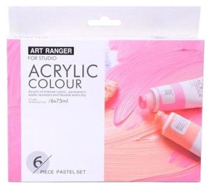 Avatar Art Ranger Acrylic Colors 6x75ml Pastel