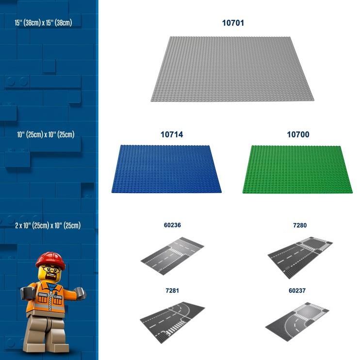 LEGO Classic Baseplate 10700 Green