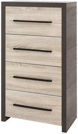 Gib Meble Chest Of Drawers Sonoma/Canterbury
