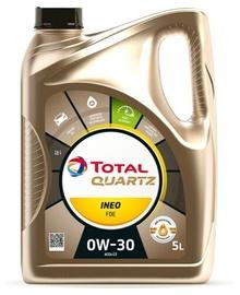 Mootoriõli Total Quartz Ineo FDE 0W - 30, sünteetiline, sõiduautole, 5 l