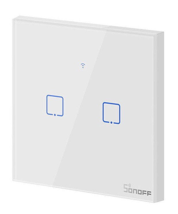Slēdzis Sonoff T0 EU TX 2 Channels Smart Switch