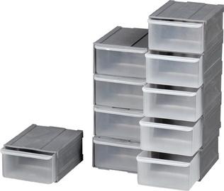 Smulkių daiktų dėžių komplektas Okko, 10,5 x 8 x 4,5 cm, 10 vnt.