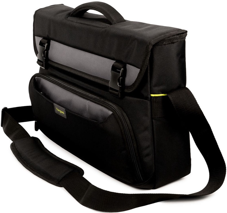 Targus City Gear Messenger Laptop Bag 10-14 Black