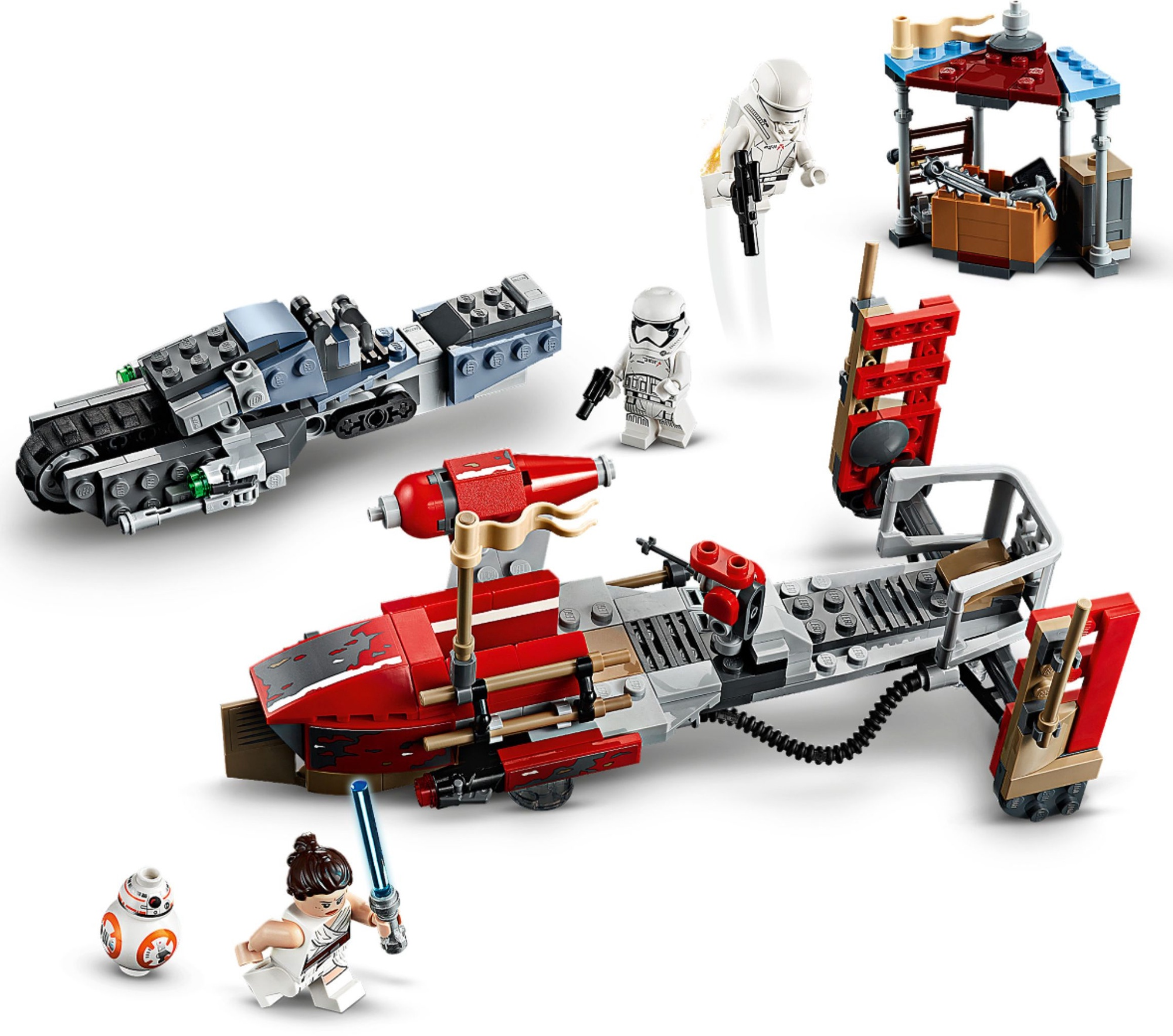 Конструктор Lego Star Wars Pasaana Speeder Chase 75250 - Krauta.ee