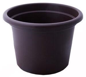 Verners Campanula Flower Pot Brown 28cm