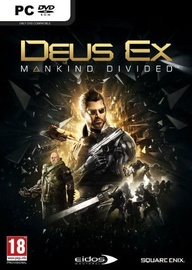 Deus Ex: Mankind Divided Steelbook Edition Day One PC