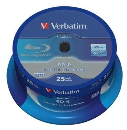 Verbatim BD-R 25GB 6x Cake 25pcs