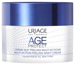 Sejas krēms Uriage Age Protect Multi Action Peeling Night Cream, 50 ml