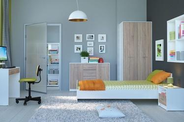 Комплект мебели для детской комнаты Black Red White Nepo Sonoma Oak