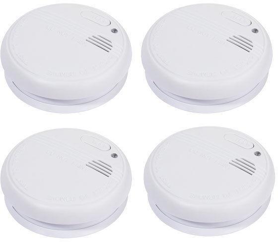 Vivanco Smoke Detector Set White