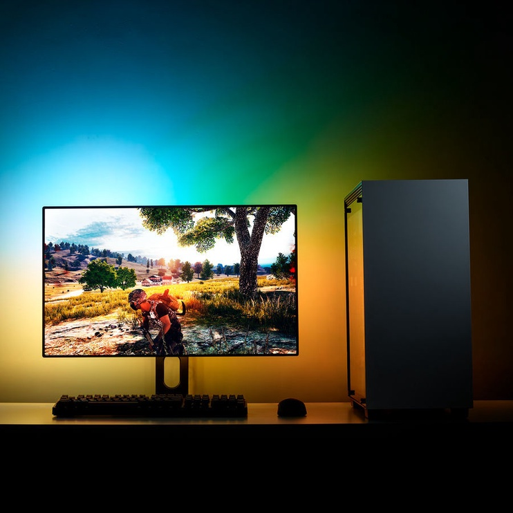 "NZXT Hue 2 Ambient V2 RGB Monitor Lightning Kit 21""-25""/34""-35"" Ultrawide"