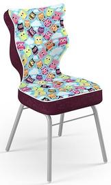 Детский стул Entelo Solo Size 4 ST32, фиолетовый/многоцветный, 340 мм x 775 мм