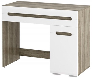 MN Naomi ST-04 Dressing Table White/Oak