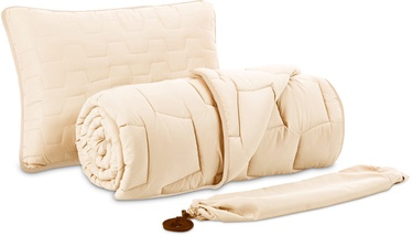 Dormeo AdaptiveGo Duvet And Pillow Set 140x200 Cream